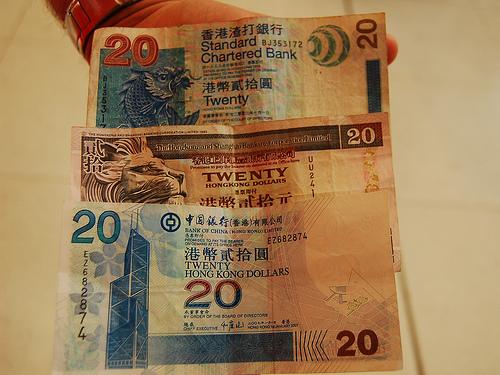 Курс гонконгского доллара к американскому