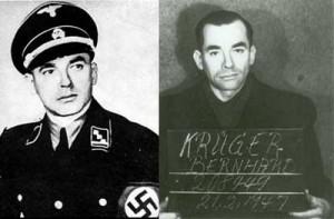 Штурмбанфюрер СС Бернхард Крюгер