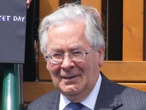 Управляющий Банка Англии  Сэр Мервин Кинг