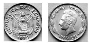 Монеты Центрального Банка Эквадора