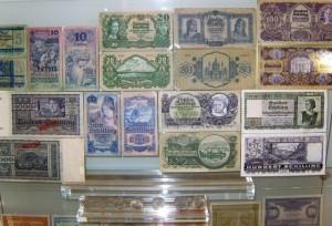 Музей денег Австрии. Экспозиция