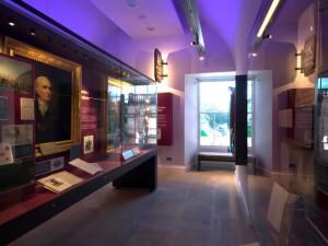 Музей денег Эдинбурга. Экспозиционный зал.