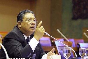 Президент Банка Индонезии Дармин Насутион