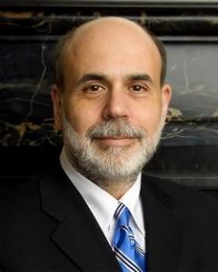 Председатель Совета управляющих Федеральной резервной системы Бен Шалом Бернанке.