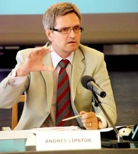 Президент Банка Эстонии Андрес Липсток