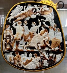 Великая камея Франции (I в. до н.э.)