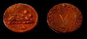Спинтрии (лат. spintria). Бордельные марки