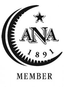 Эмблема Американской нумизматической ассоциации