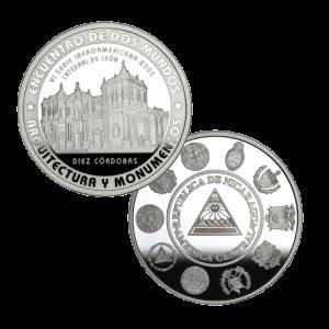 Монеты ЦБ Никарагуа