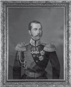 Император Александр II. Художник Е.И. Ботман, около 1860 года