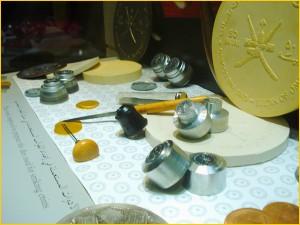 Музей денег Омана. Экспонаты музея.