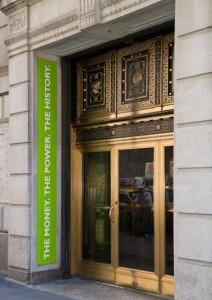 Музея финансов Америки. Вход.