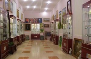Одесский музей нумизматики. Экспозиционный зал.