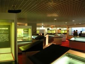 Музей денег Японии. Экспозиционный зал.