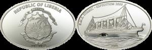 """Монета с углем """"Титаника"""""""