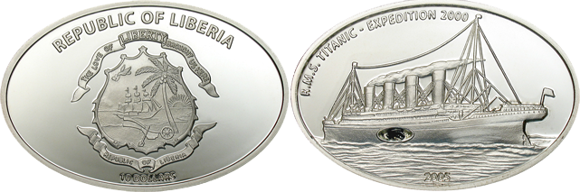 Монета с нарисованным оленем и написано republic купюра в 1000 евро