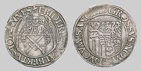 Монеты из фонда Музея в Дрездене