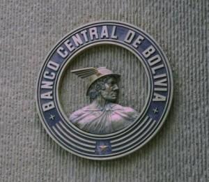 Эмблема Банка Боливии