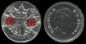 Канадская монета 2010 года «День памяти»