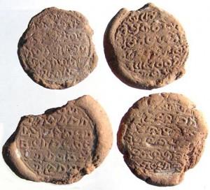 терракотовые жетоны