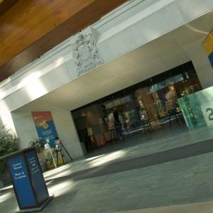 Музей денег в Канаде. Вход.