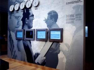 Музей денег Немецкого Банка. Терминалы.