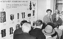 Открытие первой выставки. Основатель Тилль Кроха. 1954 г.