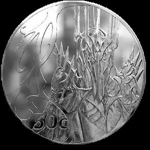 """Монеты серии """"Властелин Колец"""". Глаз Саурона"""