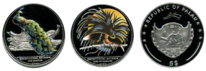 Палау «Экзотические птицы Азии»