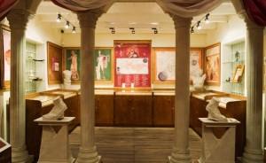 Нумизматический музей Арубы. Один из залов.