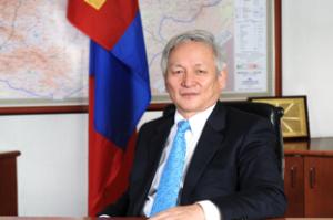 Губернатор Банка Монголии Лхамсурэнгийн Пурэвдорж