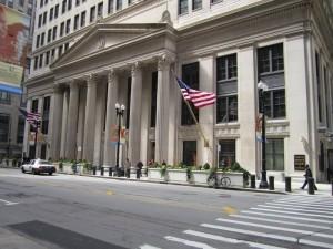 Музей денег Федерального Резервного Банка Чикаго.
