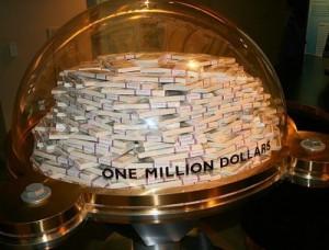 Музей денег Федерального Резервного Банка Чикаго. Миллион долларов в банкнотах