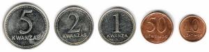 Монеты Банка Анголы