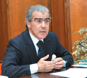 Управляющий Банка Марокко Абделлатиф Жохри.