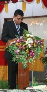 Президент ЦБ Восточного Тимора  Абраао де Васконселос