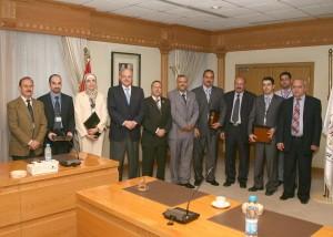 Руководители Центрального Банка Иордании
