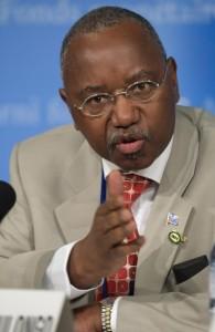 Управляющий банком Жан-Клод Масангу Мулонго