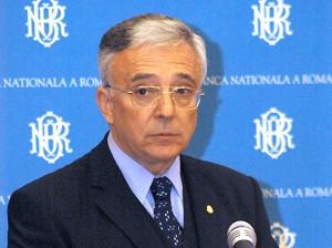 Управляющий банка Румынии Мугур Исэреску