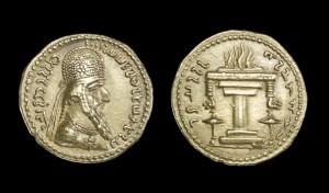 Британский музей. Монеты из коллекции музея.
