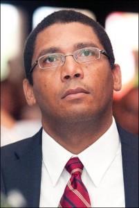 Управляющий банком Гаити Чарльз Кастель