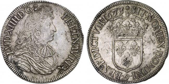 Монеты людовика 14 падре муэрто