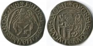Недатированная монета 1507-1511 гг, Аннаберг