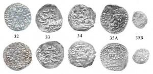 Рис.68. Сарайские дирхемы Токты 698-699 гг.х.