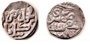 Снимок данга Узбека чекана Сарай ал-Махруса 723 гн.х.