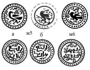 Рис.Реконструкции пулов Сарая 726 г.х.