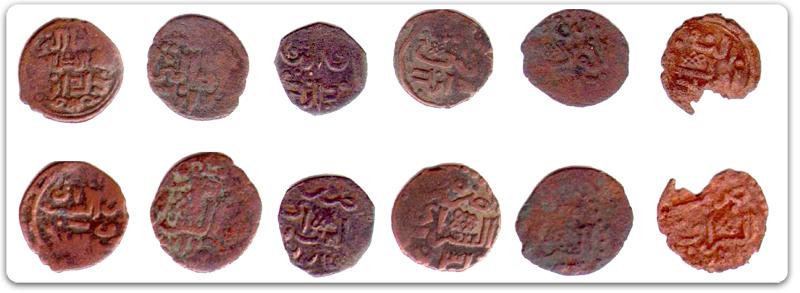 Медные монеты Сарая 30-х гг. XIV века