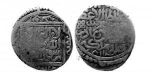 Рис.6. Самаркандская танка 811 г.х. Халил-Султана.
