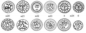 Рис.4. Реконструкции  крымских анонимных пулов времени Токты 693, 706, 707 гг.х.