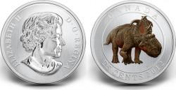 COTY-2014-Canada-25-cent-Dinosaur-Pachyrhinosaurus-250x129